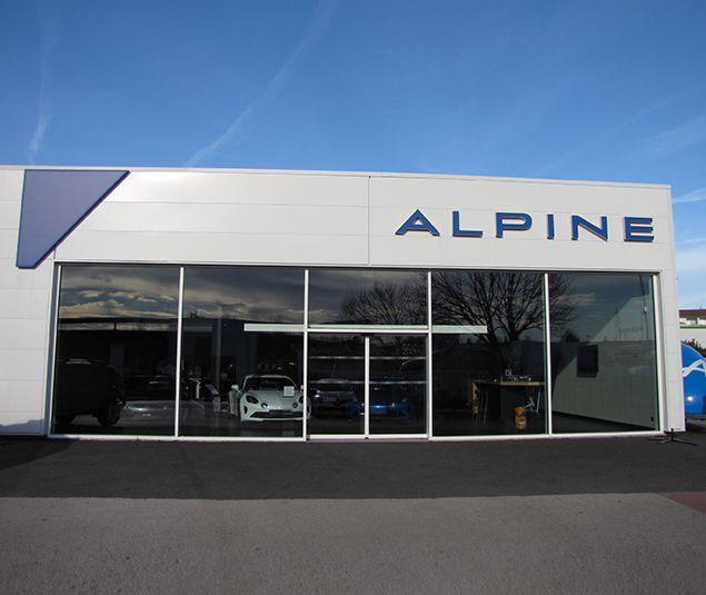 Votre Concession Alpine villefranche à Villefranche-sur-Saône