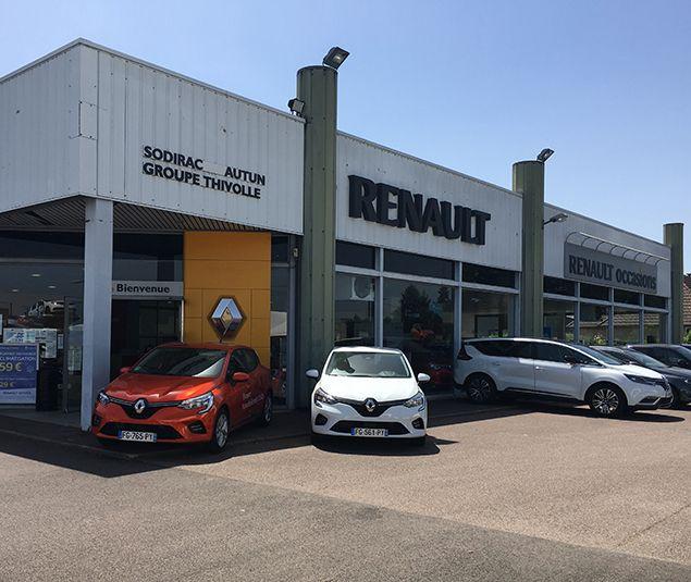 Votre Concession Renault autun à Autun