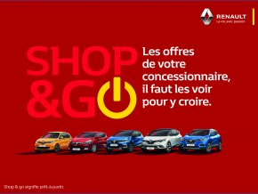 Shop & Go : véhicules prêts à partir