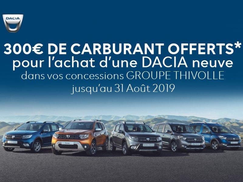 Operation carburant Dacia