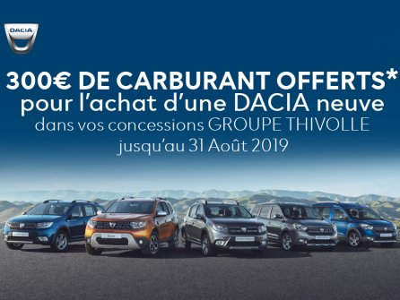 Operation carburant Dacia