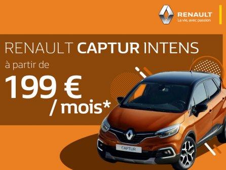 Votre Renault Captur Intens à partir de 199€/mois