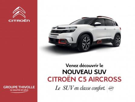 PORTES OUVERTES - Nouveau Citroën C5 Aircross