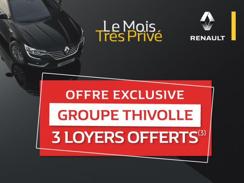 Offre exclusive dans vos concessions Renault Groupe Thivolle*