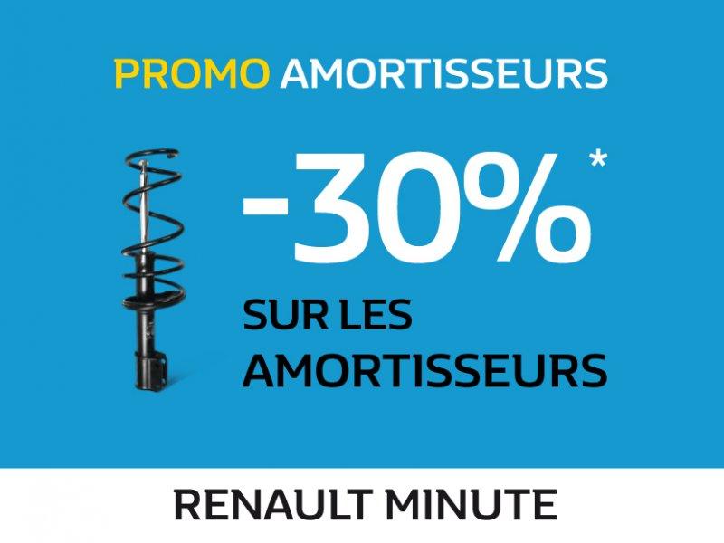 Offre Renault Amortisseurs