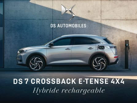Essayer DS 7 Crossback E-Tense
