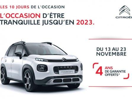 Les 10 Jours de l'occasion Citroën
