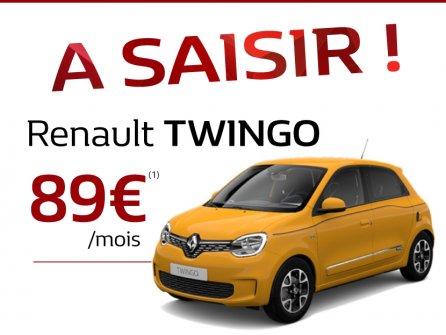 Votre Renault Twingo à 89€/mois
