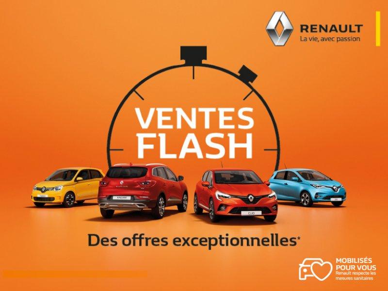 Ventes flash Renault
