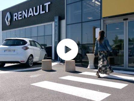 Vidéo de présentation du protocole de livraison d'un véhicule