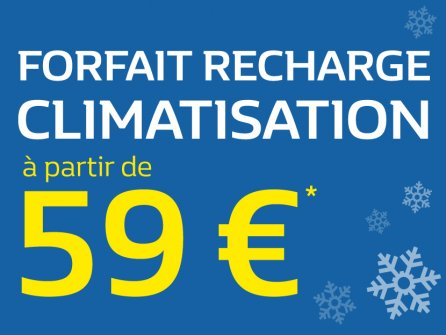 Forfait recharge climatisation