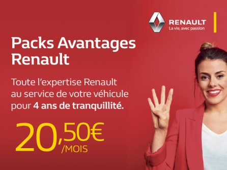 Packs Avantages Renault