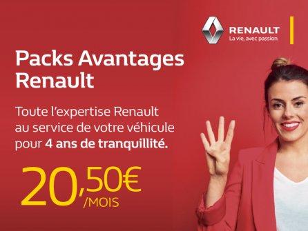 Packs Avantages Renault