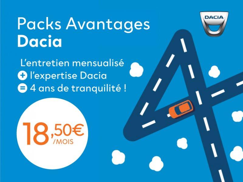 Packs Avantages Dacia
