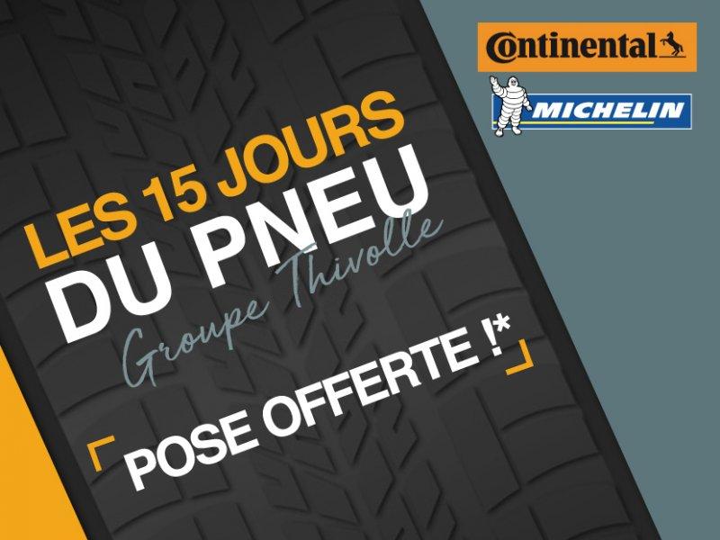 Foire aux pneus Groupe Thivolle