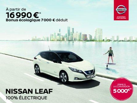 Nissan soutient le nouveau bonus électrique