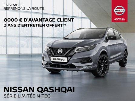 Nissan Qashqai - Avantage client de 8 000 euros !