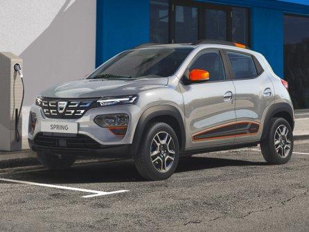 Nouvelle Dacia Spring électrique
