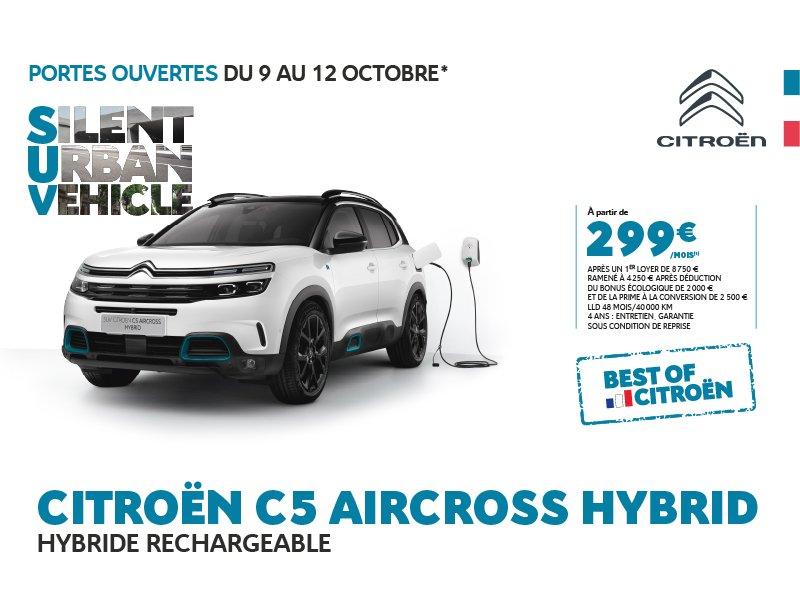 BEST OF CITROËN : C5 Aircross Hybrid
