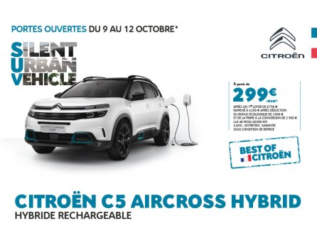 BEST OF CITROËN : C5 Aircross Hybrid