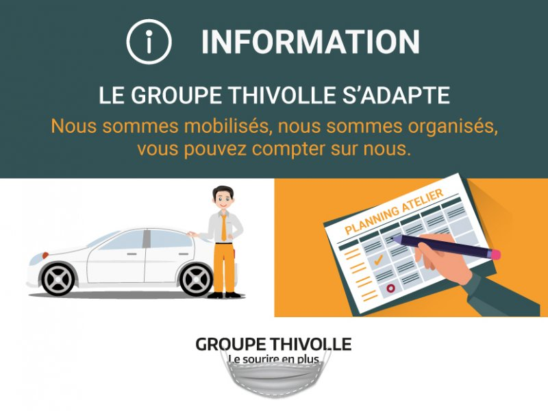 Le Groupe Thivolle s'adapte !