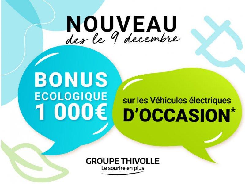Bonus écologique d'occasion : 1 000 €