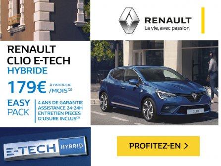 E-TECH : véhicules hybrides et électriques
