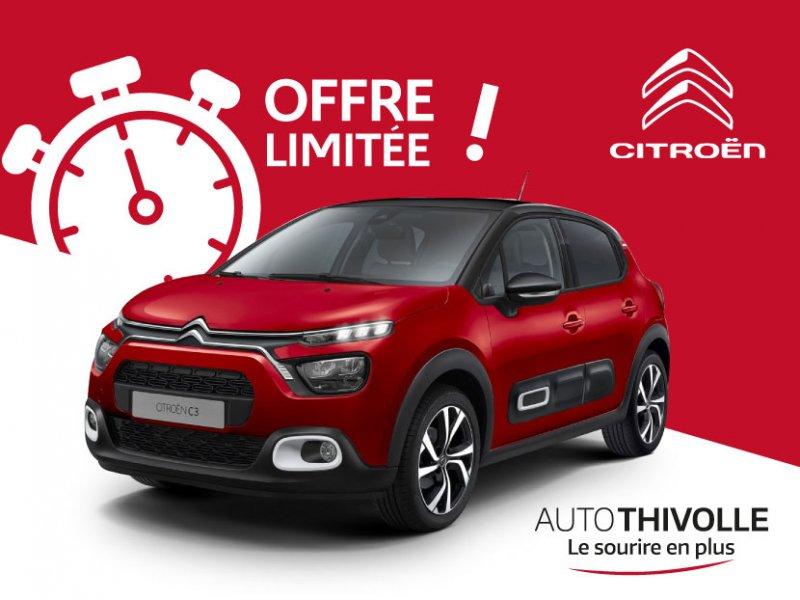 Votre nouvelle Citroën C3 garantie & entretenue pendant 36 mois