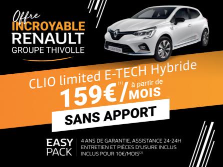 Clio Limited E-Tech Hybride à partir de 159€/mois