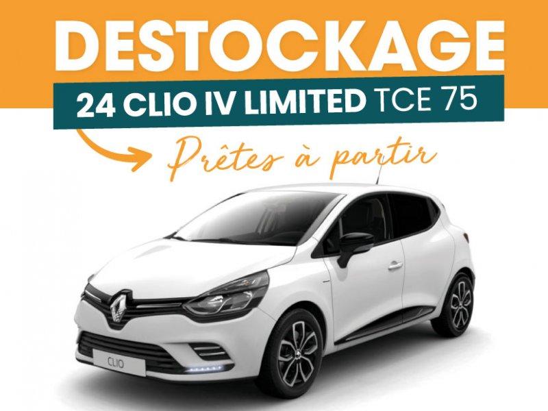 Destockage Clio IV Limited TCE 75