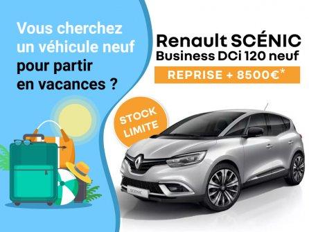 Sur Scénic Business DCi 120 neuf, reprise + 8500€