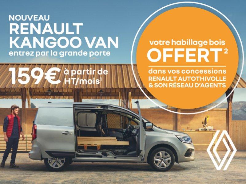 Renault KANGOO VAN - Votre habillage bois offert