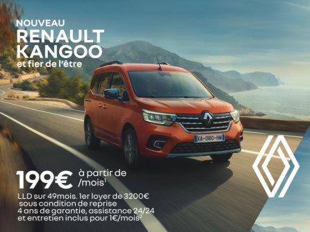 Renault Kangoo à partir de 199€/mois