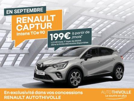Renault Captur à partir de 199€/mois