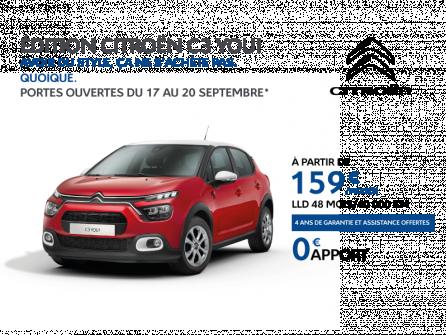 Série spéciale Citroën C3 YOU